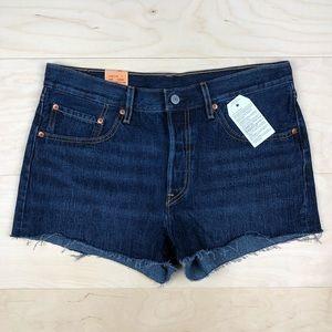 NWT Levi's 501 Cutoff Denim Shorts